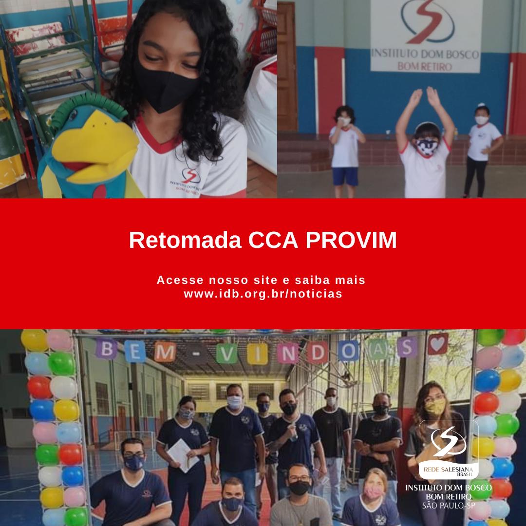 Retomada CCA PROVIM