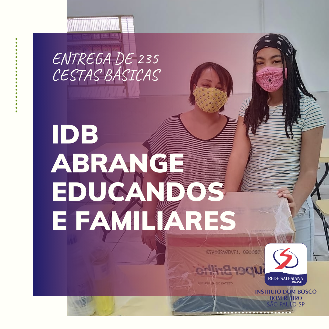 IDB abrange educandos e familiares 😊