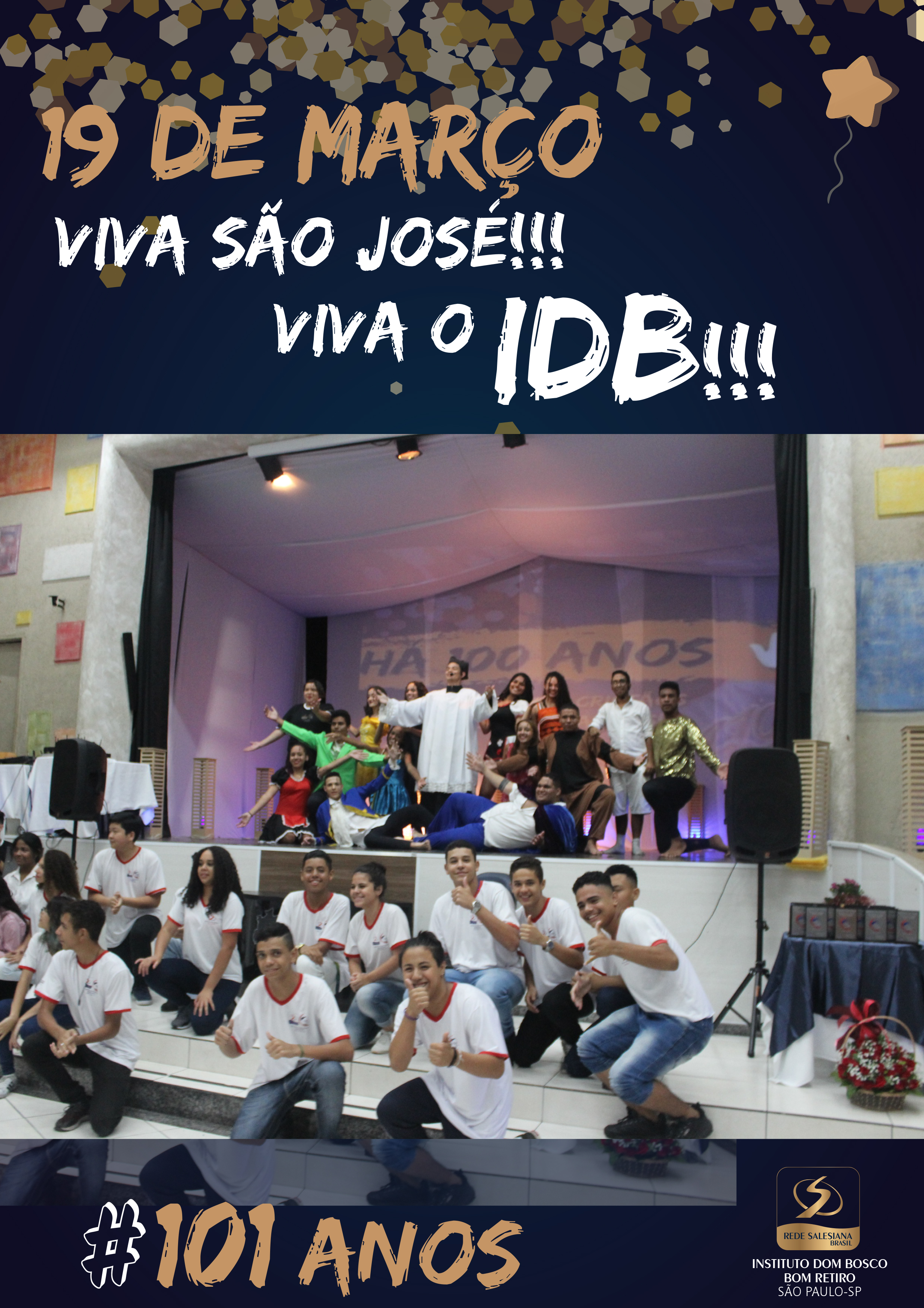 Dia de S.José e Aniv. do IDB