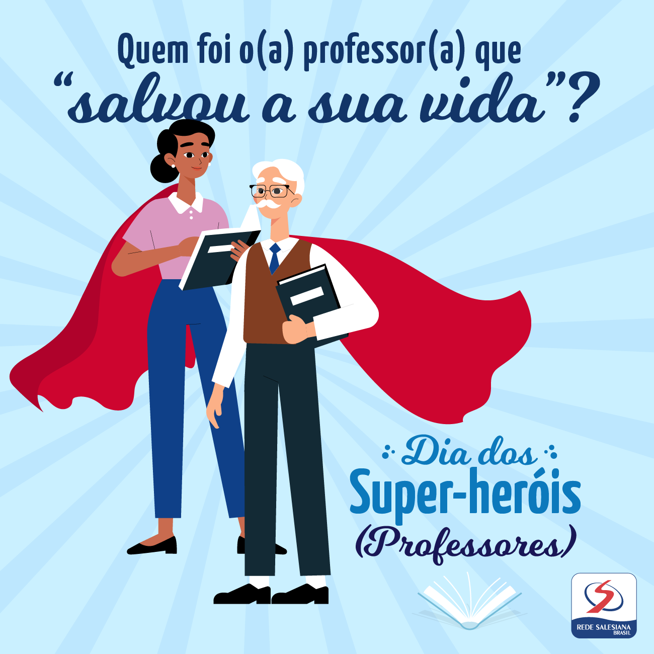 ✨Feliz dia dos professores!✨