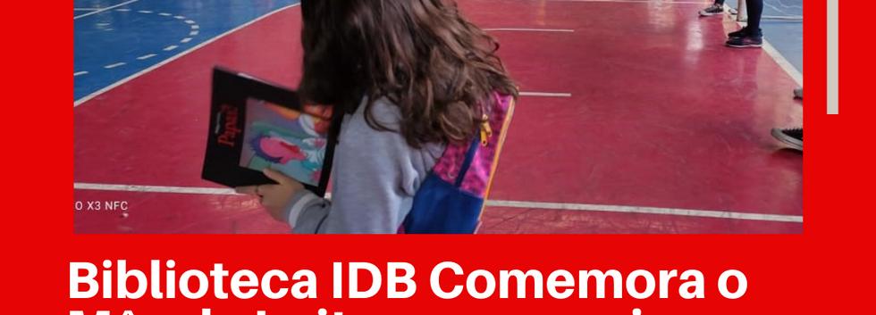 Biblioteca IDB Comemora o Mês da Leitura