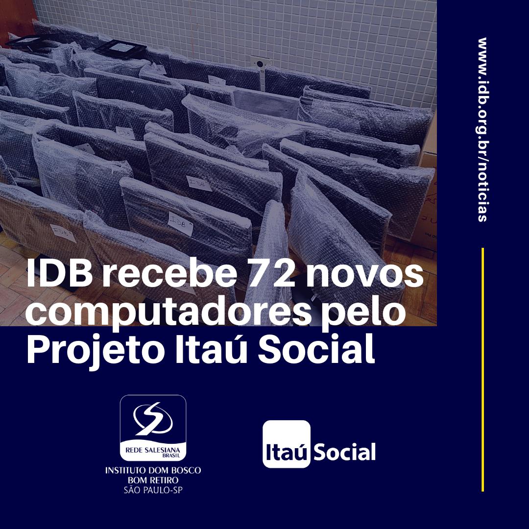 IDB Recebe 72 novos computadores