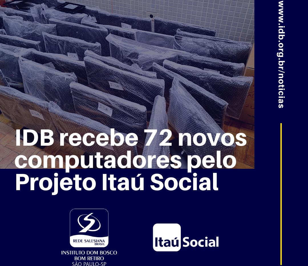 IDB Recebe computadores Itaú Social.png