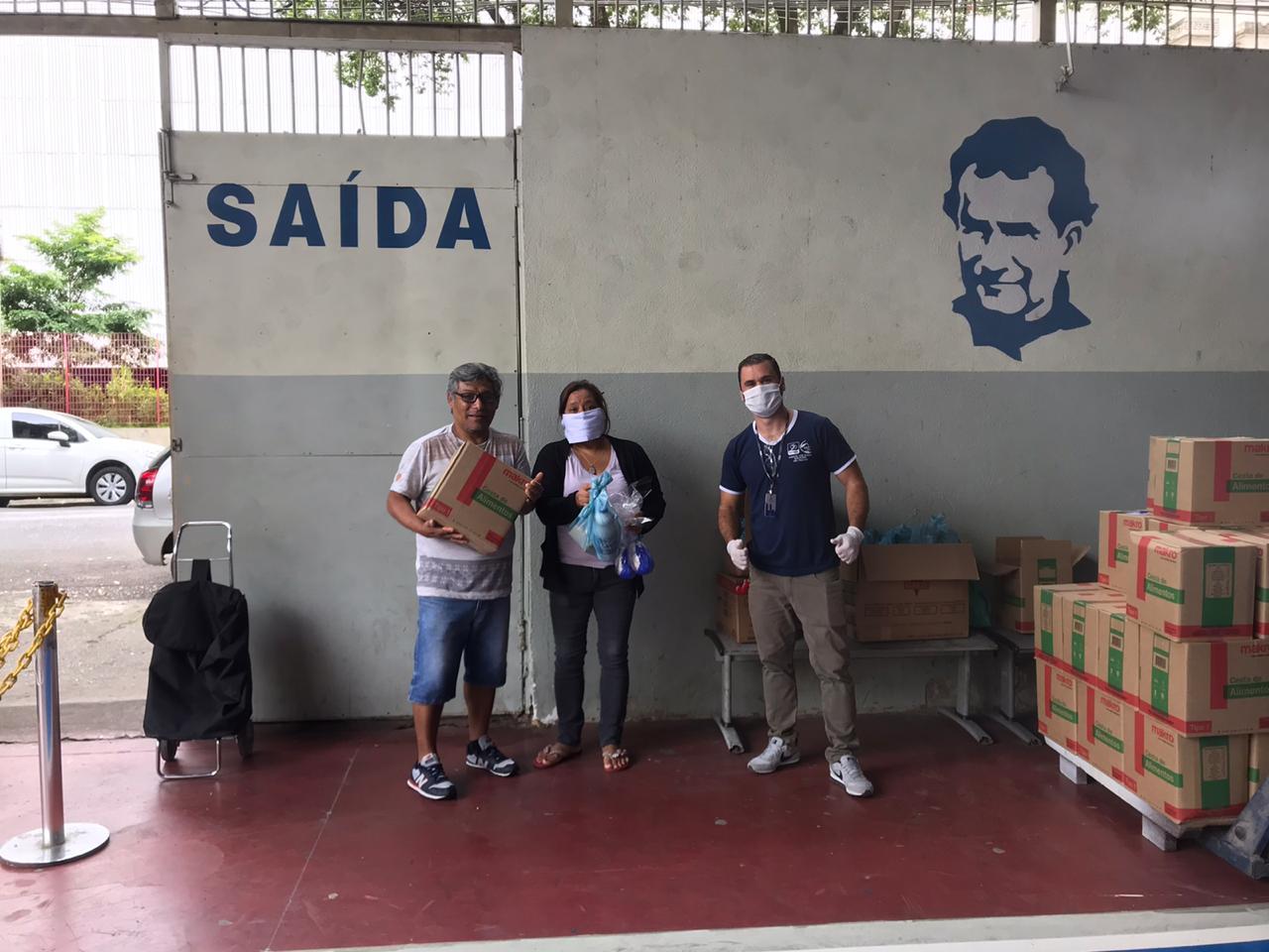IDB e parceiros arrecadam kits e cestas