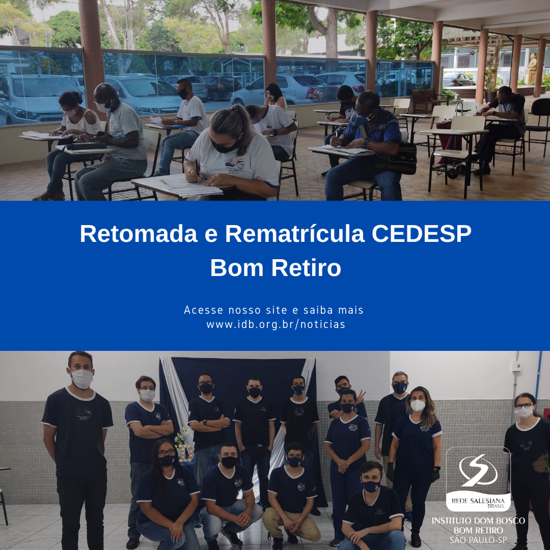 Retomada e Rematrícula CEDESP BR