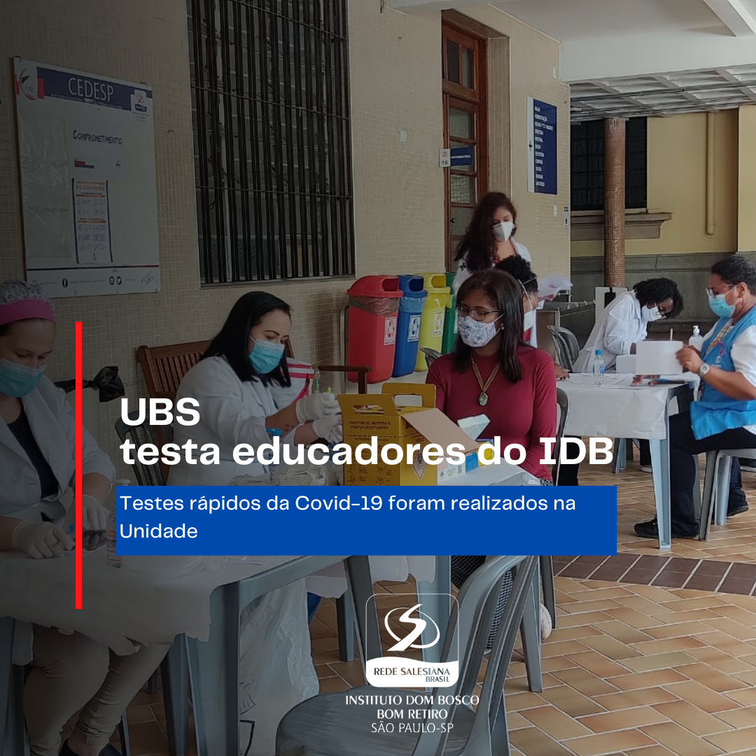 UBS testa educadores do IDB