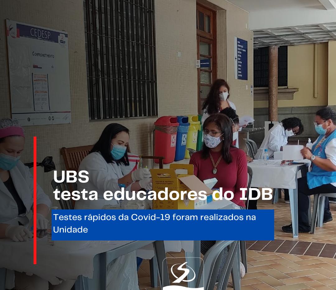 UBS testa educadores do IDB