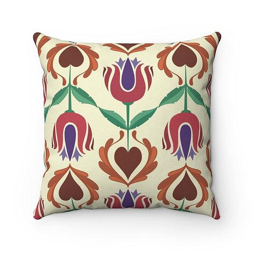 Heart Hex Pillow
