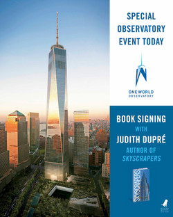 One World Trade Center book signing