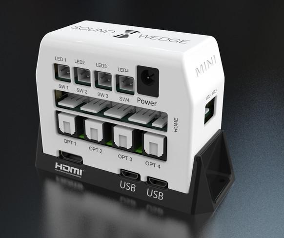 SoundWedge Mini Optical with LEDs