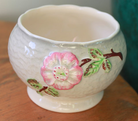 English Shorter & Sons Ceramic Sugar Bowl