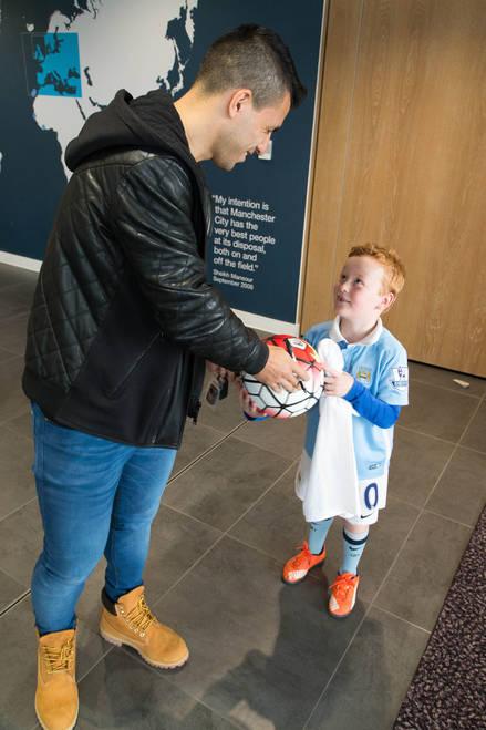 Dream Manchester City Weekend Featuring Sergio Aguero