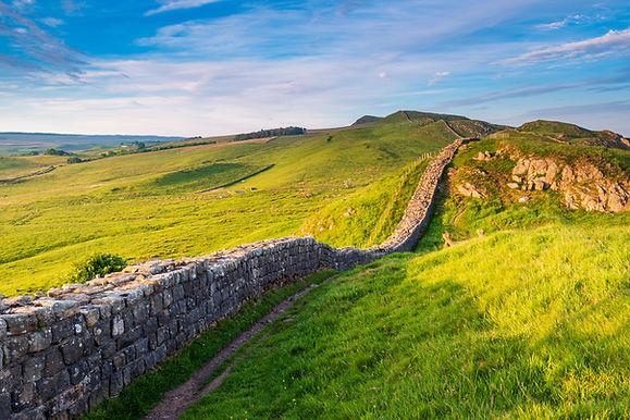 Roman Wall near Caw Gap, or Hadrian's Wa
