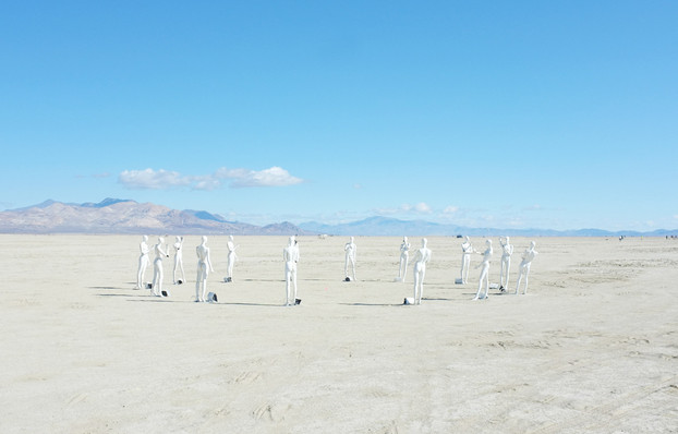 Art - Deep Playa - Burning Man