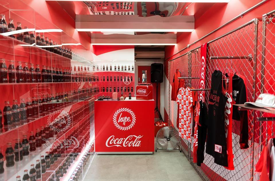 Coca Cola x Hype
