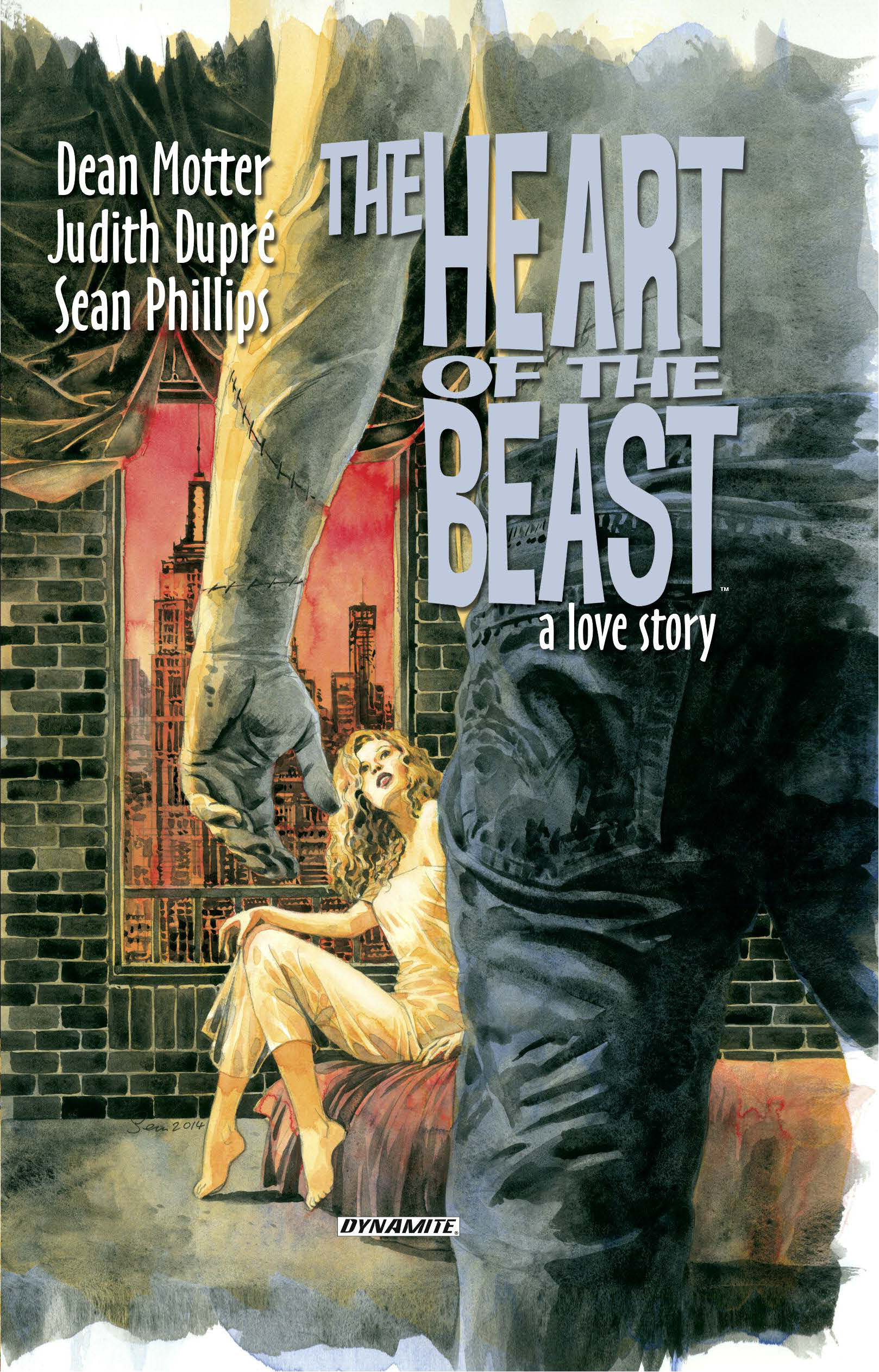 1 Heart of the Beast 2014 Cover