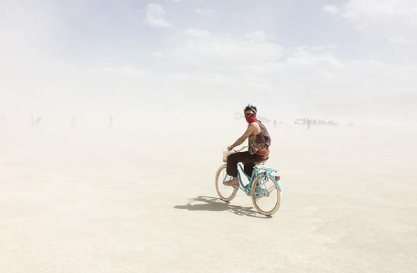 Biking - Burning Man
