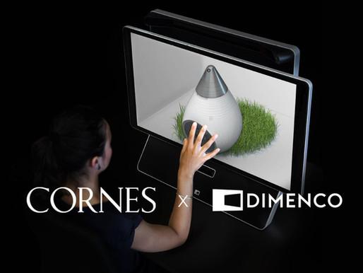 Dimenco and Cornes Technologies announce a distribution agreement