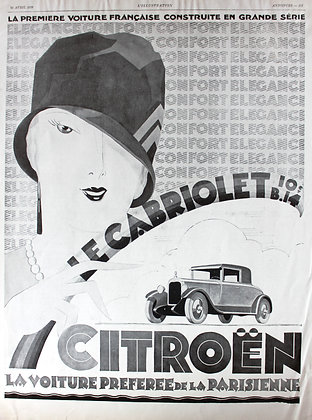 French Magazine Advertisement