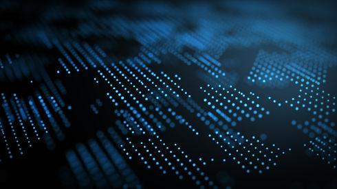 Abstract dark and blue digital backgroun