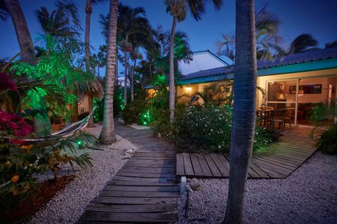 Boardwalks Suites at night.jpg