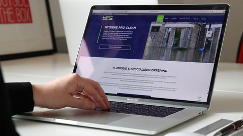 HYGIENE PRO CLEAN - WEBSITE & MARKETING