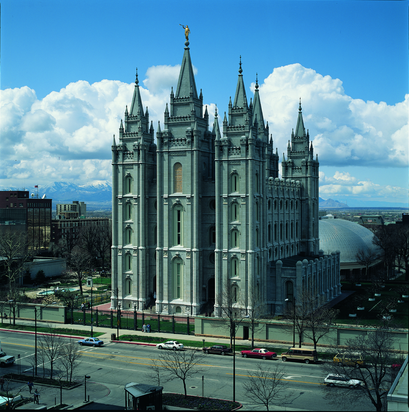 Truman O Angell Salt Lake Temple