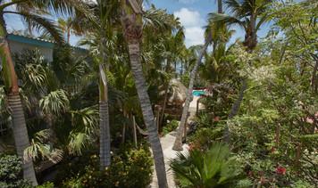 Garden with Balcony