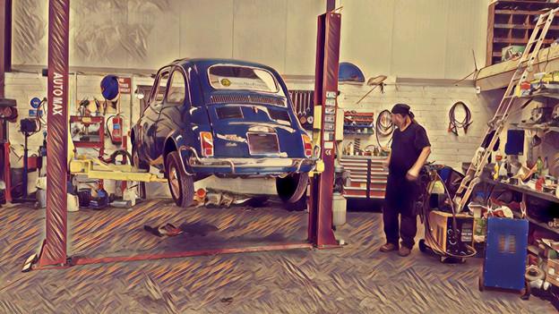 Bella & the Maestro – FIAT 500
