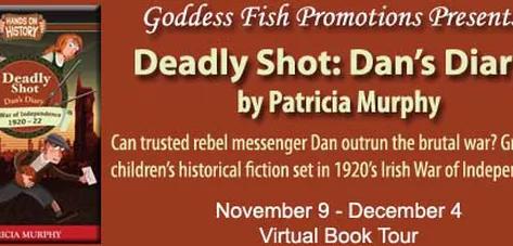 Deadly Shot: Dan's Diary (Nov 9 - Dev 4) Virtual Book Tour