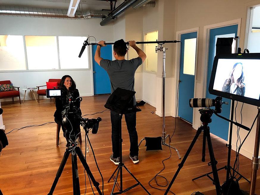 jacinta jimenez filming