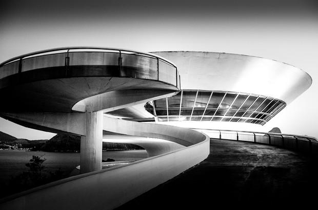 The Oscar Niemeyer Museum - Curitiba, Brazil