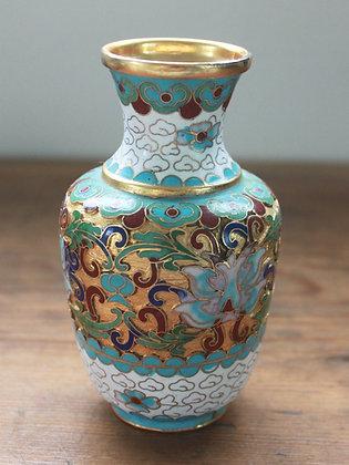 Chinese Vintage Cloisonné Vase