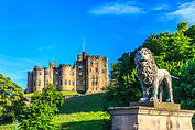 Alnwick Castle, a castle and stately hom