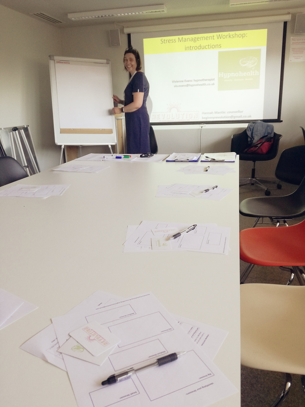 Stress Management Workshops, Revolution Psychotherapy & Counselling, Fleet, Hampshire