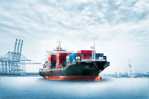 Logistics import export background of Co