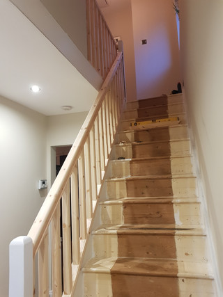 Stairs and Bannister
