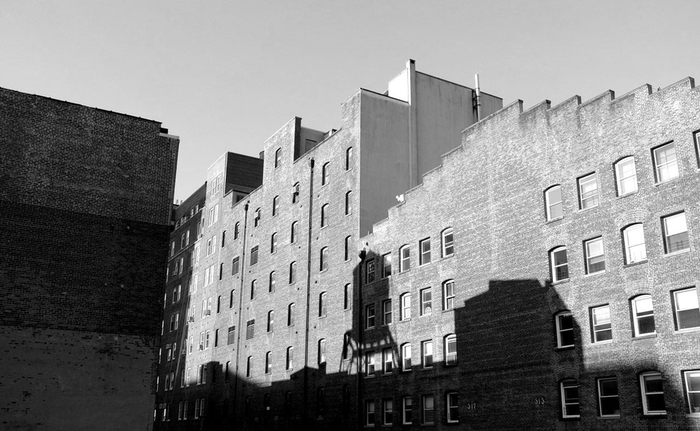 Suburbs shadows - New york