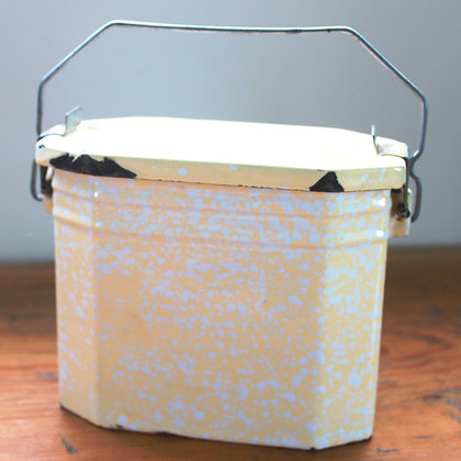 French Enamelled Lunch Box