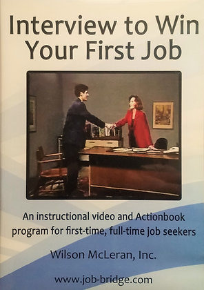 Interview to Win Your First Job Video Program