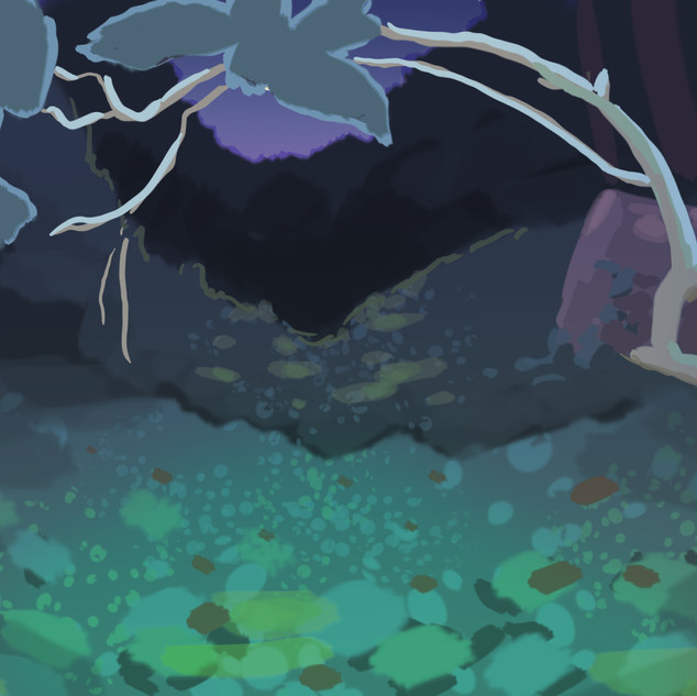 Forest Concept (Night), 2019