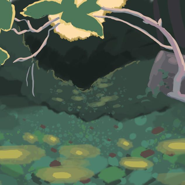 Forest Concept (Dusk), 2019