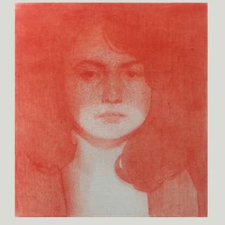 Self Portrait in Red, 2018