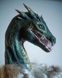 Papier-mâché Dragon