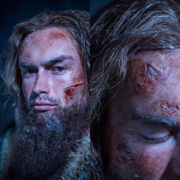 """Revenant"" Recreation Makeup"