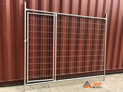 2.4m x 2.1m Temporary Fence Gate - $115/ea