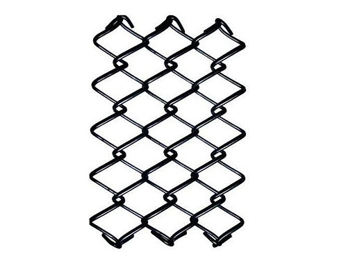 Black Chain link fence 20 meters Roll