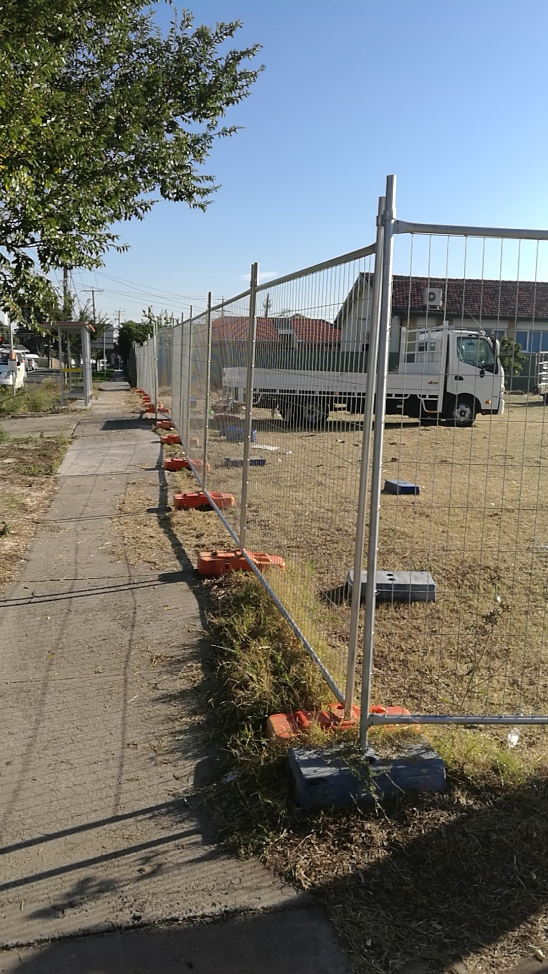 Temporary Fence installation