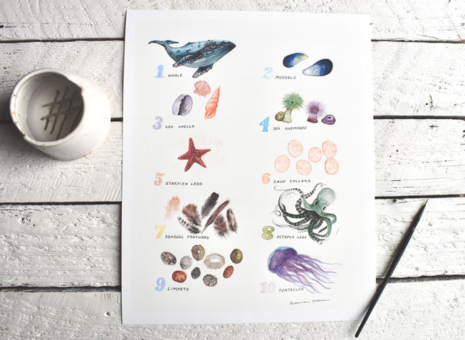 Ocean Number Chart