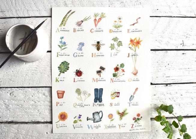 Garden Alphabet
